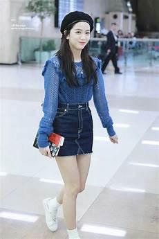 blackpink jisoo at gimpo airport blackpink fashion
