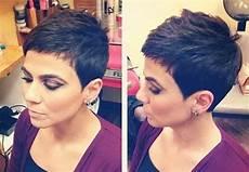 kurzhaarfrisuren 2018 frech dunkel 15 framing pixie hairstyle ideas crazyforus
