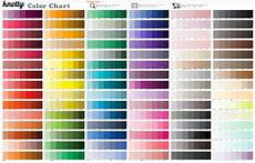 The Color Of Chart Pick Your Colors Color Chart Knotty Tie Co
