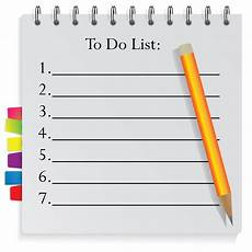 Make List Get Organised With A To Do List