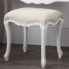 roses shabby chic chaise pouffe stool wood legs