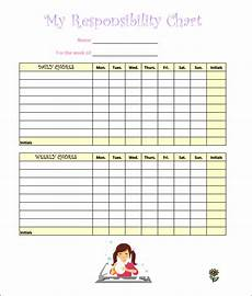 Chore Template 7 Kids Chore Chart Templates Free Word Excel Pdf