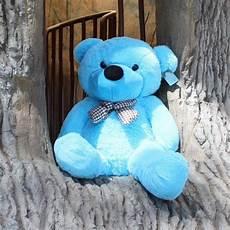 Cute Blue Images Cute Stuffed Teddy Bear 100cm Blue