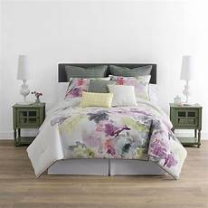 Jcpenney Bedroom Sets Deals Jcpenney Home Watercolor Floral 4 Pc Comforter Set