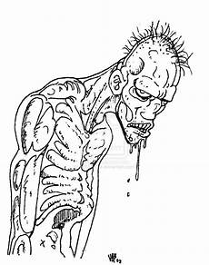 zombie coloring pages bestofcoloring com