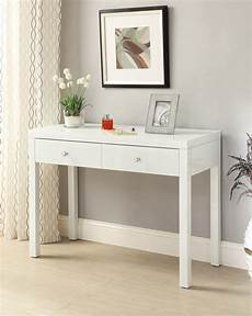 reflections white glass mirrored console hallway dressing