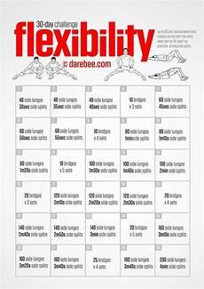 Flexibility Chart Flex Flexibility Challenge Chi Flexibility