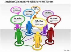 Community Network 0914 Community Social Network Communication Ppt Slide