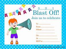 Free Printable Party Invitations For Boys Free Printable Birthday Invitations Random Talks