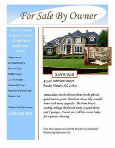 Home Sale Flyer Template 14 Free Flyers For Real Estate Sell Rent Real Estate