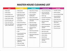 Cleaning House Schedule Chart Complete Housekeeping Printable Set Gone Like Rainbows