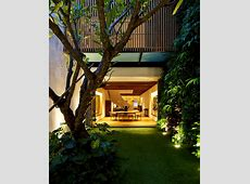 Contemporary Home in Singapore with Curved Spiral Staircase   InteriorZine