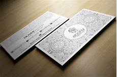 Elegant Business Cards Elegant White Business Card Business Card Templates On