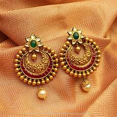 Earrings Design Images Manubhai Jewellers Designs South India Jewels