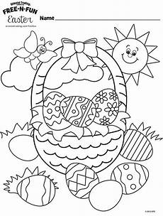 easter coloring pages pdf at getcolorings free