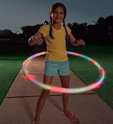 Hula Hoop Girl Lights Light Up Hula Hoop Hearthsong
