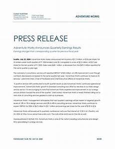 Press Releases Template 46 Press Release Format Templates Examples Amp Samples ᐅ