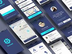 App Ui Bloodal App Design Ui Kit 12 Free Screens For Psd