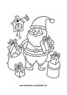 Bunte Malvorlagen Weihnachten Nikolaus Bilder Malen Suche