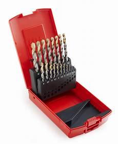 dormer utensili set 19 punte hss din338 1 10 tin dormer a095201 toolshop