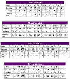 Asian Shoe Size Chart To Uk Shoe Sizes International Conversion Tables And Charts