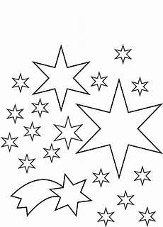 Sterne Malvorlagen Kostenlos Sterne Zum Ausmalen Malvorlagentv