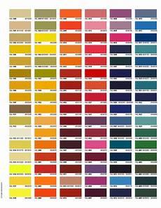 Color Gels Color Chart Color Charts Trojan Powder Coating