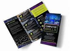 computer education brochure template mycreativeshop