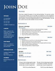 Ms Word Resume Templates Free Free Creative Resume Cv Template 547 To 553 Free Cv