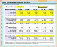 Mortgage Calculator Excel Sheet 11 Loan Calculator Spreadsheet Excel Spreadsheets Group