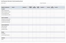 Documentation Template 10 Free Project Documentation Templates Smartsheet
