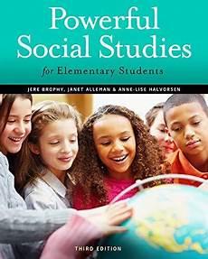 Social Studies In Elementary Education Isbn 9781111838065 Powerful Social Studies For