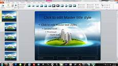 Powerpoit Themes How To Make Your Own Powerpoint Themes Youtube