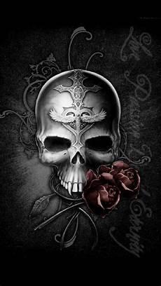 black and white wallpaper iphone skull skull wallpaper for iphone 67 images