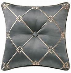 waterford dimitrios charcoal square decorative pillow