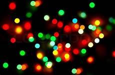Christmas Black Light Drama Abstract Christmas Lights As Background Stock Image