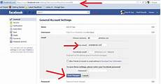 Facebook Address How To Change Notification Email Address On Facebook