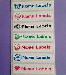name tag stickers for clothes 25 stick on school identity name labels stickers tags for