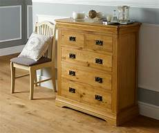 farmhouse country oak 2 3 chest of drawers