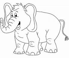 of elephant coloring page netart