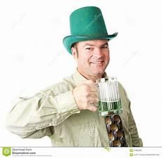 st patricks dag citater ierse amerikaanse mens op st patricks dag stock afbeelding