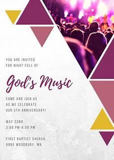Church Invitations Customize 389 Church Invitation Templates Online Canva