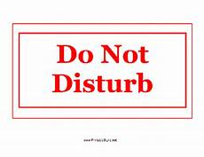 Do Not Disturb Signs Printable Printable Do Not Disturb Sign