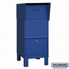 Business Mailbox Salsbury Industries 4975blu Courier Mailbox Blue