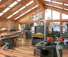 Best Lighting For Machine Shop Wood Shop Lots Of Big Green Machines Lighting In Ceiling