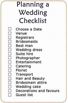 Planning A Wedding Checklist Basic Wedding Checklist Printable Wedding Checklist