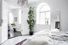 scandinavian home design combining white black and