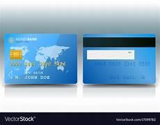 Credit Card Sample Credit Card Sample Royalty Free Vector Image Vectorstock