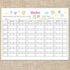 Diabetes Log Sheets Printable Free Printable Childrens Diabetic Log Blood Glucose Level Sheets
