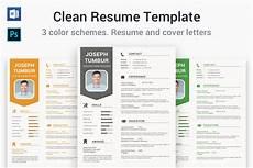 Clean Resume Template Free Clean Resume Template Cv Resume Templates Creative